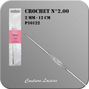Crochet – 12cm – n°2.00