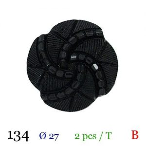 Tube 2 boutons ref : 134