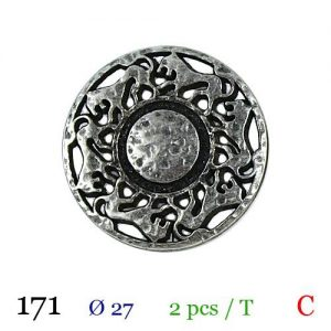 Tube 2 boutons ref : 171