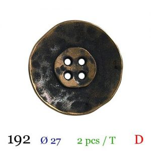 Tube 2 boutons ref : 192
