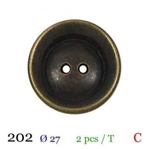 Tube 2 boutons ref : 202