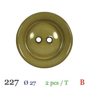 Tube 2 boutons ref : 227