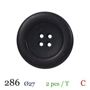Tube 2 boutons ref : 286