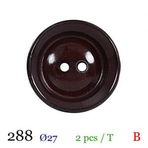 Tube 2 boutons ref : 288