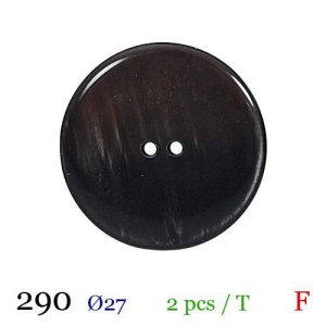 Tube 2 boutons ref : 290