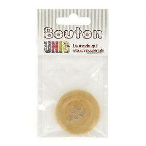 Carte 1 bouton bois 4 tr  Ø 40 mm – C