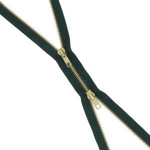 Fermeture b à b laiton non séparable 70 cm