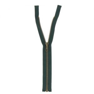 Fermeture laiton séparable 80 cm
