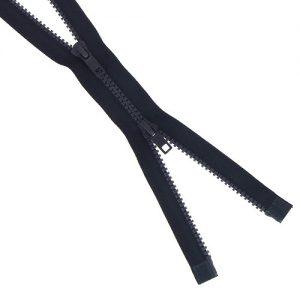 Fermeture injectée n°5 B à B séparable 90 cm