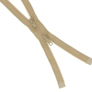 Fermeture injectée n°5 B à B séparable 60 cm