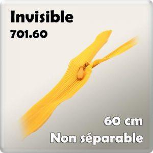 Fermeture invisible 60 cm – code prix H