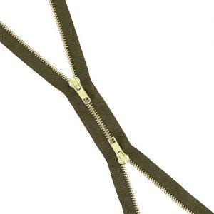 Fermeture b à b laiton séparable 80 cm