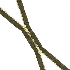 Fermeture b à b laiton séparable 100 cm