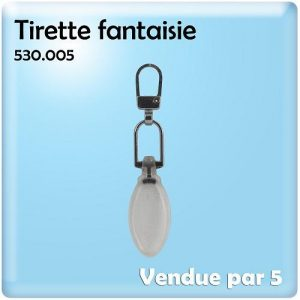 Tirette fantaisie ref : 005