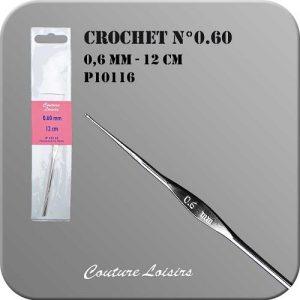 Crochet – 12cm – n°0.60