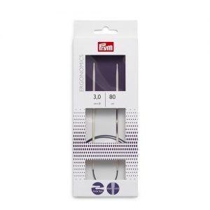 Aiguille à tricoter circulaire ergonomic 80 cm 3,