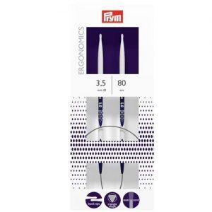 Aiguilles à tricoter circulaire ergonomics 80 cm 3