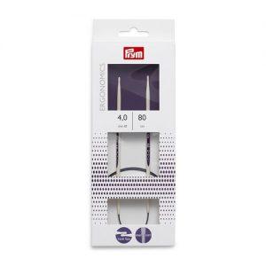Aiguille à tricoter circulaire ergonomic 80 cm 4,