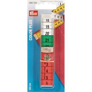 Centimètre Color Plus a. bouton pression 150cm/cm
