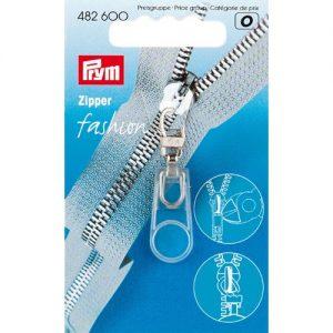 Tirette Fashion-Zipper Caoutchouc transparent