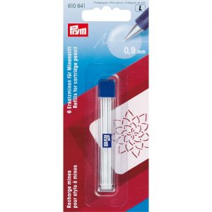 Recharge mines pour stylo à mines blanc