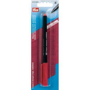 Crayon a marquer linge indelebile rouge