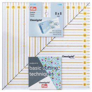 Règle Patchwork carrée 8 x 8 inch Omnigrid