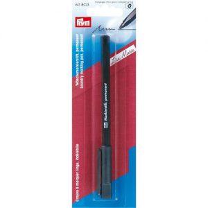 Crayon à marquer linge stylo indélébile, noir