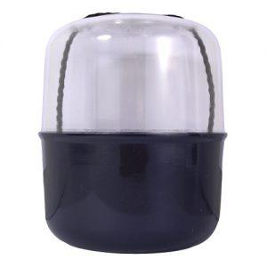 Boîte à pelote avec couvercle transparent plastiqu