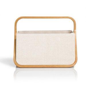 Coffret Fold & Store canevas & bambou naturelle