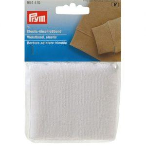 Bordure- Ceinture Elastique Blanc