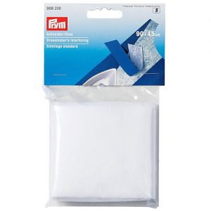Entoilage standard thermocollant 90 x 45 cm blanc