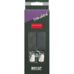 Bretelles. hommes Standard 110cm 25mm noir