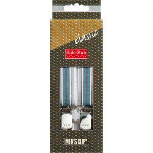 Bretelles. hommes Classic 110cm 25mm gris