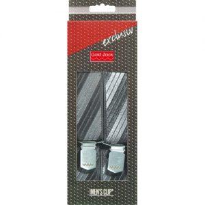 Bretelles. hommes Excl.120cm 35mm gris/noir
