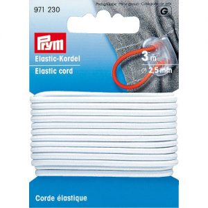 Corde Elastique 2.5 mm Blanc