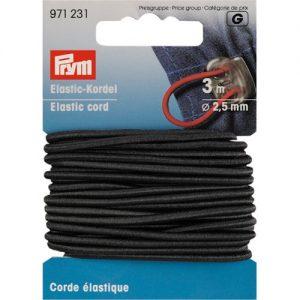 Corde Elastique 2.5 mm Noir