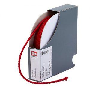 cordon  parka en polyacrylique 4 mm rouge