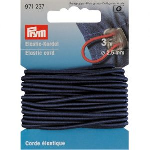 Corde Elastique 2.5 mm Marine