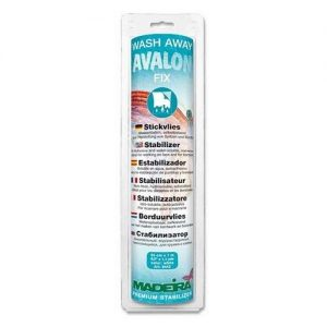 Rouleau Avalon fix 24 cm x 1 m blanc