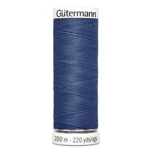 Boite 5 bobines fil t. coudre 200m 100% polyester