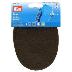 Renforts imitation cuir gris fonce 10 x 14 cm