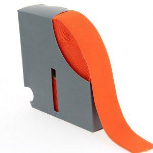 Ceinture elastique 38 mm orange