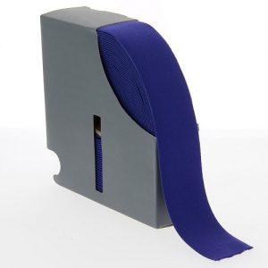 Ceinture elastique 38 mm bleu