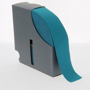 Ceinture elastique 38 mm turquoise
