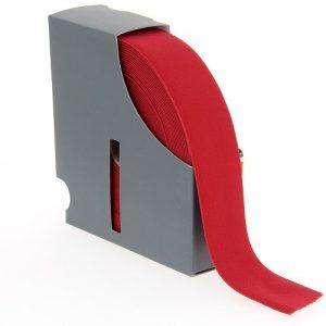 Ceinture elastique 38 mm rouge