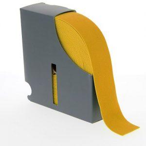 Ceinture elastique 38 mm jaune