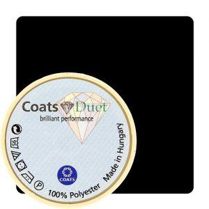 Boîte 5 bobines Coats Duet 1000 m