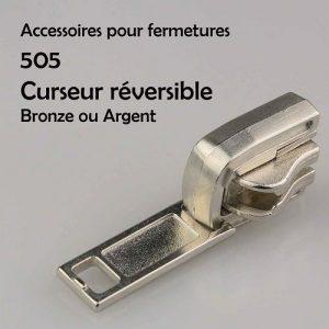 505 Curseur réversible