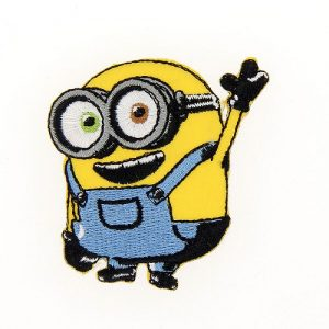 Ecussons broderie Minions